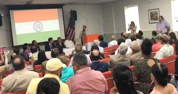 काश्मीरप्रश्नी नाक खुपसण्याचा प्रयत्न अमेरिकन खासदाराच्या अंगलट
