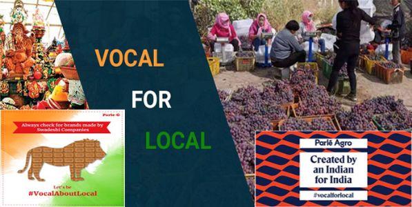 लोकल ते ग्लोबल : आत्मनिर्भर भारत !