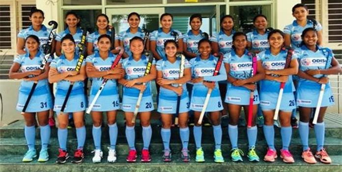 Indian women hockey team_