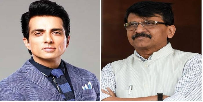 Sonu Sood And Sanjay Raut