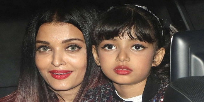 Aishwarya and Aradhya Bac