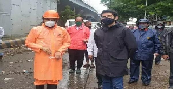 mumbai rain aditya thacke