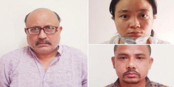 चीनसाठी हेरगिरी करणाऱ्या पत्रकारासह दोघांना अटक