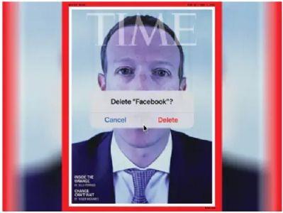 झुकरबर्गचा 'टाईम' खराब : फेसबूक डिलीट कव्हरस्टोरीमुळे अडचणी