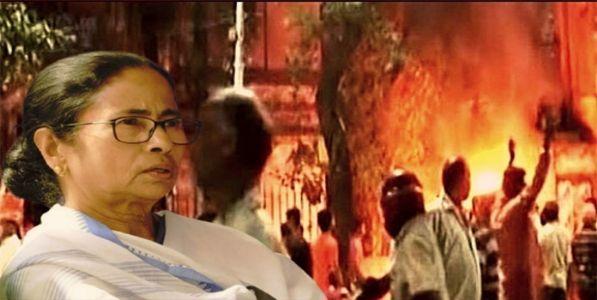 विजयाच्या उन्मादात संघसमर्थकांच्या हत्या, अत्याचार, जाळपोळ!