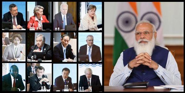लोकशाही आणि स्वातंत्र्य भारताच्या सांस्कृतिक सभ्यतेचा भाग - मोदी