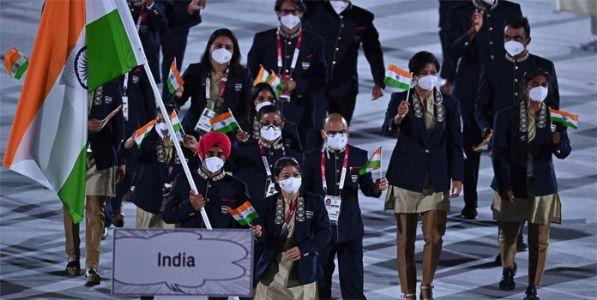 टोकियो ऑलिम्पिक २०२१ ; फडकला भारतीय ध्वज