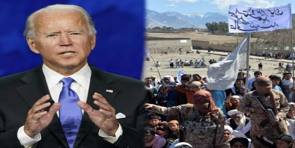 अफगाण सैन्याला लढायचे नाही तर मग अमेरिका सैन्याने का मरावे - जो. बायडन